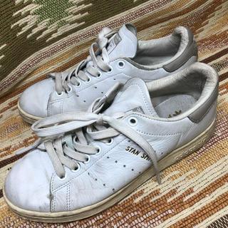 アディダス(adidas)の【本日限定】アディダス スタンスミス グレー 金文字 24センチ(スニーカー)