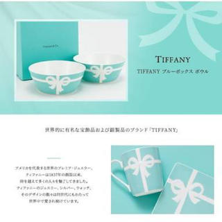 Tiffany & Co. - Tiffany ティファニー ブルーボックス ボウル 新品未開封 2枚セット