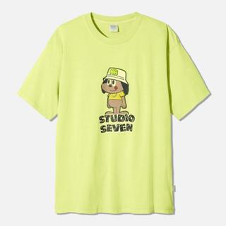 ジーユー(GU)のGU STUDIO SEVEN ビッグT(半袖)STUDIO SEVEN 2(Tシャツ/カットソー(半袖/袖なし))