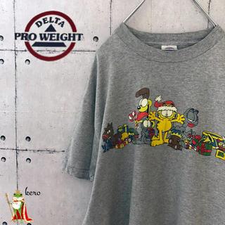 DELTA - 【USA輸入】ガーフィールド プリント tシャツ