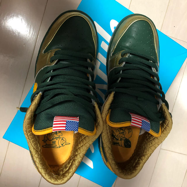 NIKE(ナイキ)のnike  sb dunk low qs db    us10.5 メンズの靴/シューズ(スニーカー)の商品写真