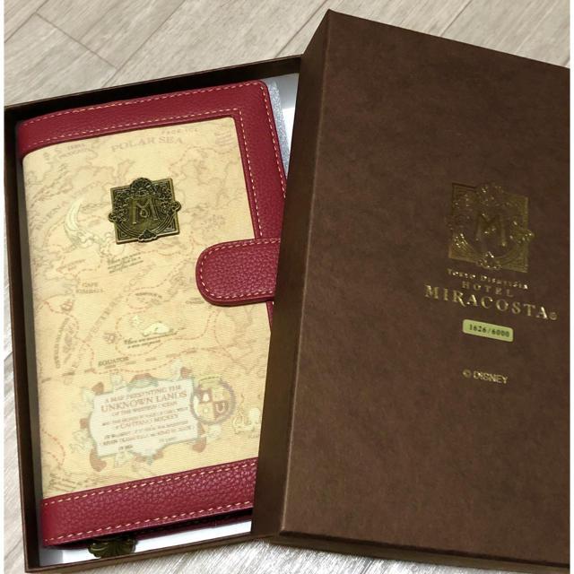 Disney(ディズニー)のミラコスタ 手帳 非売品 アメニティセット エンタメ/ホビーのコレクション(ノベルティグッズ)の商品写真