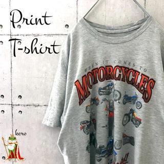 【USA輸入】インポートプリント Tシャツ バイク motorcycles