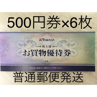 ヤマダ電機 株主優待 3000円分