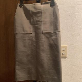 デミルクスビームス(Demi-Luxe BEAMS)のDemi-Luxe BEAMS / ダブルクロス ベイカースカート(ひざ丈スカート)