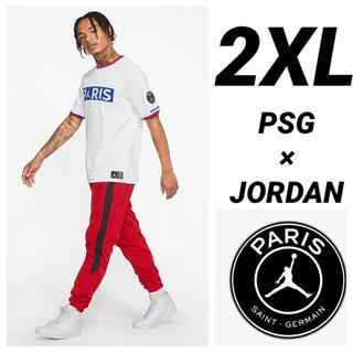 ナイキ(NIKE)のPSG JORDAN NIKE 半袖Tシャツ 2XLサイズ(Tシャツ/カットソー(半袖/袖なし))