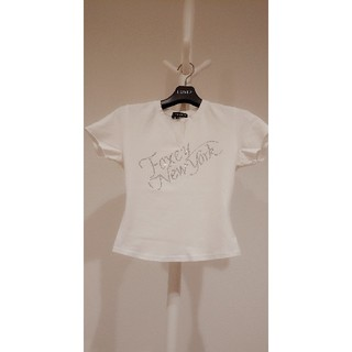 FOXEY - フォクシー★FOXEYキラキラストーンTシャツカットソー