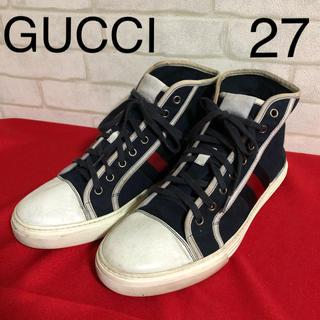 グッチ(Gucci)のグッチ GUCCI ハイカットスニーカー シェリーライン メンズ(スニーカー)
