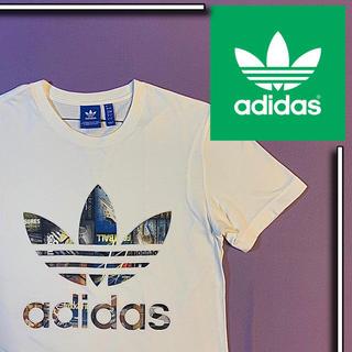 adidas - 美品 adidas origilals デカロゴ S/S Tシャツ