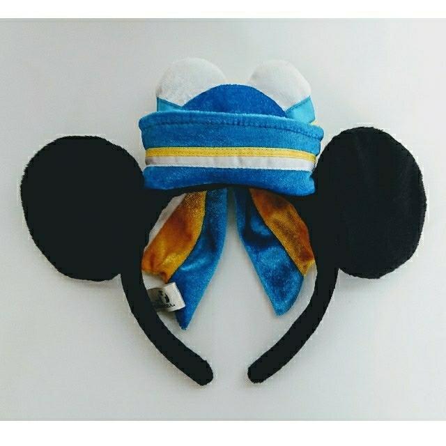 Disney(ディズニー)のディズニーシー限定・ミニー・マリンカチューシャ【☆レア美品☆】 エンタメ/ホビーのおもちゃ/ぬいぐるみ(キャラクターグッズ)の商品写真