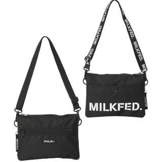 ミルクフェド(MILKFED.)のミルクフェド❤️ショルダーバッグ❤️サコッシュ❤️新品タグ付(ショルダーバッグ)