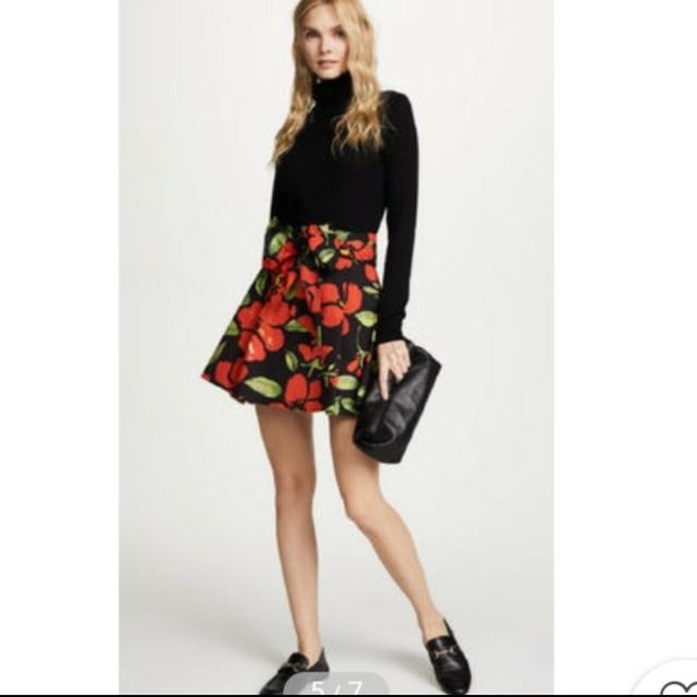 Alice+Olivia(アリスアンドオリビア)のアリスオリビア☆花柄スカート レディースのスカート(ミニスカート)の商品写真
