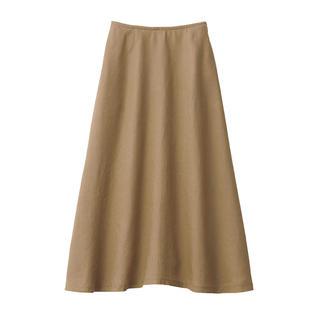 ムジルシリョウヒン(MUJI (無印良品))の無印良品 フレンチリネンフレアースカート (ロングスカート)