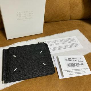 マルタンマルジェラ(Maison Martin Margiela)の20AW 正規未使用品 Maison Margiela 折り財布 グレインレザー(マネークリップ)