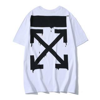 OFF-WHITE - 新品 オフホワイト Tシャツ 2着8000円 男女兼用 8DF122