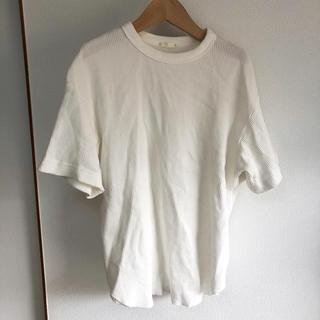 ジーユー(GU)のGU ワッフルTシャツ(Tシャツ(半袖/袖なし))