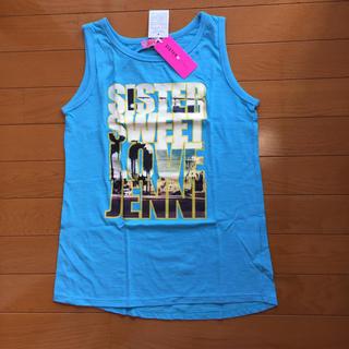 ジェニィ(JENNI)のsister Jenni タンクトップ 新品 160cm トップス  ジェニィ(Tシャツ/カットソー)