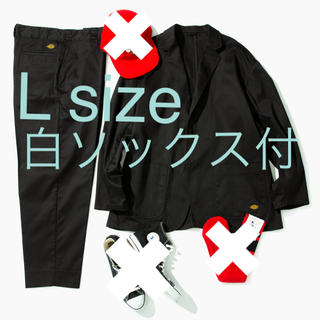 BEAMS - Dickies ×TRIPSTER ブラック セットアップ L