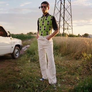 マルタンマルジェラ(Maison Martin Margiela)のmagliano ravers pants(デニム/ジーンズ)