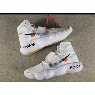 オフホワイト(OFF-WHITE)の確実正規品 格安出品 Nike×off-white リアクトハイパーダンク(スニーカー)