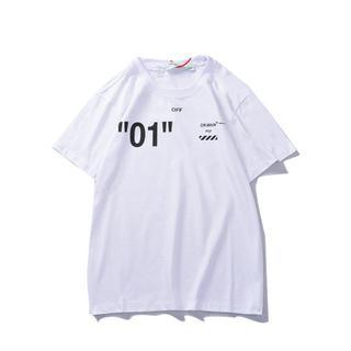 OFF-WHITE - 新品 オフホワイト Tシャツ 2着8000円 男女兼用 8DF150
