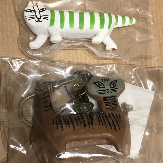 リサラーソン  キーホルダー 2点セット エンタメ/ホビーのおもちゃ/ぬいぐるみ(キャラクターグッズ)の商品写真