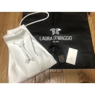 ビューティアンドユースユナイテッドアローズ(BEAUTY&YOUTH UNITED ARROWS)のビューティアンドユース購入 LAURA MAGGIO ハンドバッグ ホワイト(ハンドバッグ)
