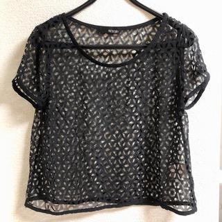 リゼクシー(RESEXXY)のRESEXXY トップス Tシャツ(Tシャツ(半袖/袖なし))