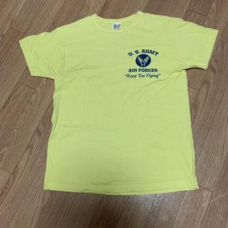 バズリクソンズUSA製 半袖TシャツBuzz Rickson'sピンナップガール