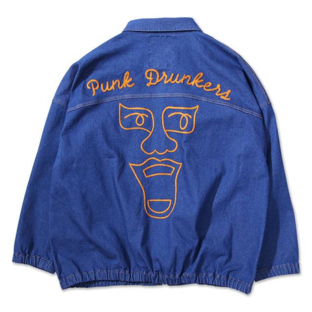 PUNK DRUNKERS(パンクドランカーズ)のパンクドランカーズ 禁じられたデニムジャケット メンズのジャケット/アウター(Gジャン/デニムジャケット)の商品写真