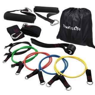 TheFitLife トレーニングチューブ チューブトレーニ(トレーニング用品)