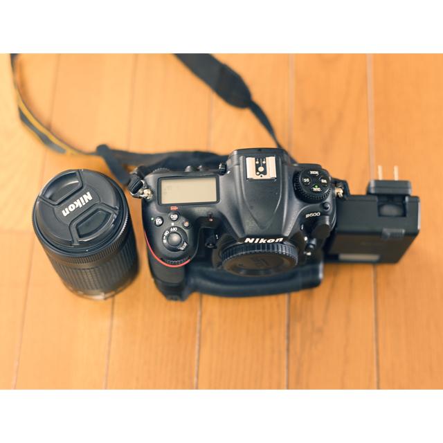 Nikon(ニコン)のNikon D500 純正バッテリーグリップ付 スマホ/家電/カメラのカメラ(デジタル一眼)の商品写真