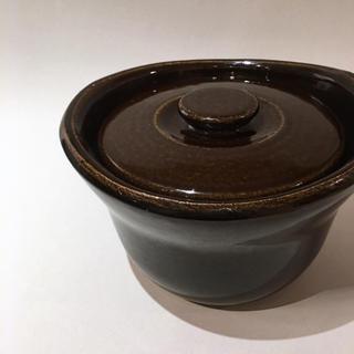 ムジルシリョウヒン(MUJI (無印良品))の土釜おこげ 3合 土鍋(鍋/フライパン)