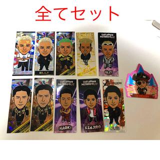 【7/10販売終了】三代目JSBメンバー 千社札 ステッカー セット