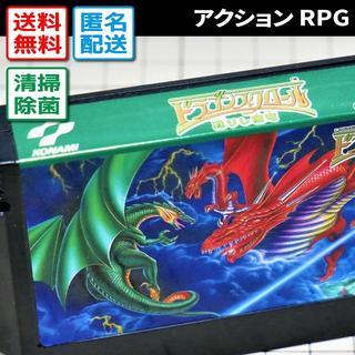 ファミリーコンピュータ(ファミリーコンピュータ)のドラゴンスクロール甦りし魔竜(ファミコン/FCソフト)(家庭用ゲームソフト)