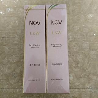 NOV - ノブ 美白 美容液 2本セット