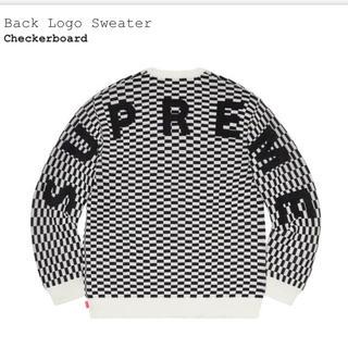シュプリーム(Supreme)のsupreme Back Logo Sweater Mサイズ(ニット/セーター)