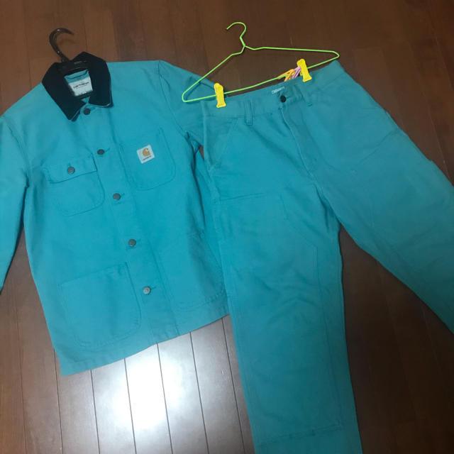 carhartt(カーハート)のcarhart wip 18ss セットアップ 最終値下げ メンズのスーツ(セットアップ)の商品写真