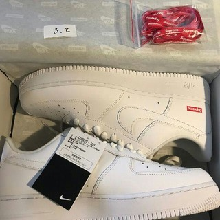 Supreme - 28cm 白 Supreme Nike Air Force 1 Low