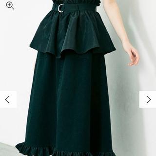 merry jenny - 【即購入OK】merry jenny frillベルトレイヤードスカート