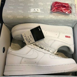 Supreme - 28.5cm 白 Supreme Nike Air Force 1 Low