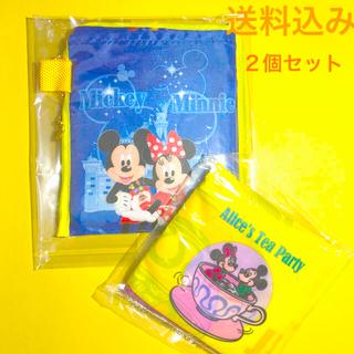 ディズニー(Disney)の入手困難!ディズニー★エコバッグ2個セット【収納袋一体型】(エコバッグ)