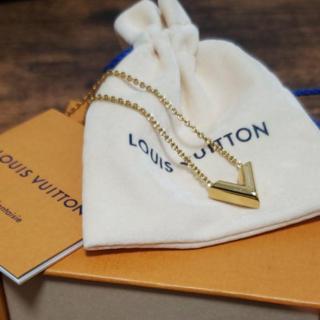 ルイヴィトン(LOUIS VUITTON)のルイヴィトン エッセンシャルV ネックレス(ネックレス)