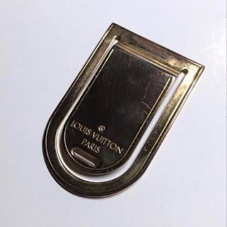 ルイヴィトン(LOUIS VUITTON)のLouis Vuitton マネークリップ ゴールド(マネークリップ)