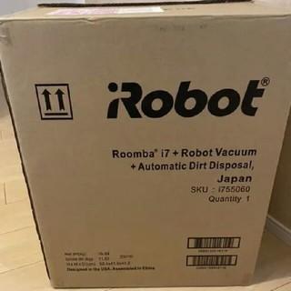 アイロボット(iRobot)のIROBOT ルンバ i7+(掃除機)