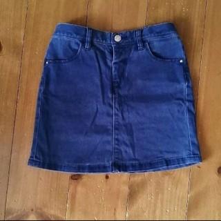 ユニクロ(UNIQLO)のUNIQLO デニム スカート 120相当(スカート)