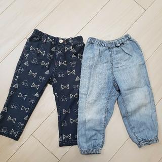 Disney - ベビー パンツ 2枚セット サイズ90