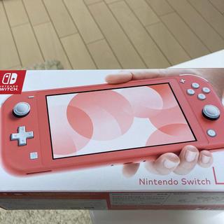 Nintendo Switch - 【中古】Nintendo Switch Lite 本体 コーラル