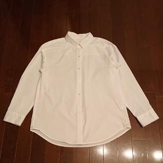 ジーユー(GU)のGU長袖白シャツ(シャツ/ブラウス(長袖/七分))