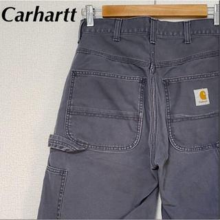 カーハート(carhartt)のカーハート ハーフパンツ W30 ペインター ダック ワンポイント グレー 古着(ショートパンツ)